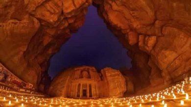 البتراء في الأردن سيدة الجبل