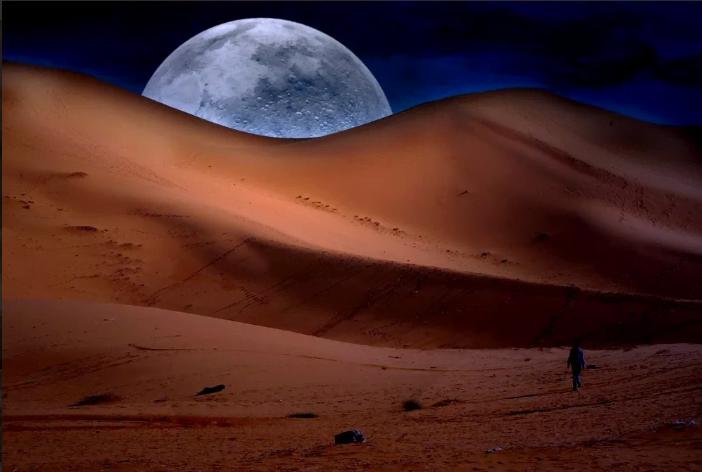 الكثبان بالجزائر