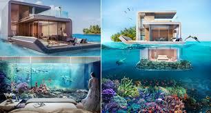 العيش تحت الماء في أرورع الفنادق