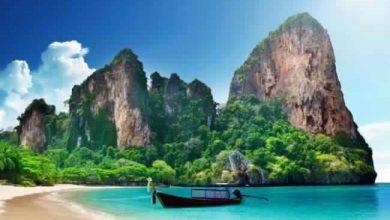 السياحية في جزيرة كرابي في تايلاند