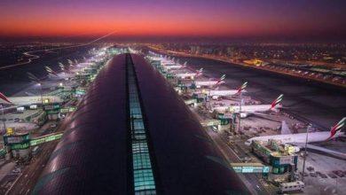 مطار دبي الثالث عالمياً بحركة المسافرين