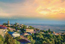 """السياحية في مدينة الحب الجورجية """"سغناغي"""""""