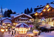 السياحية الشتوية في منتجع كورشوفيل فرنسا
