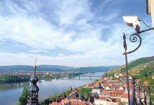 نهر الدانوب في النمسا وأطلالة مذهلة