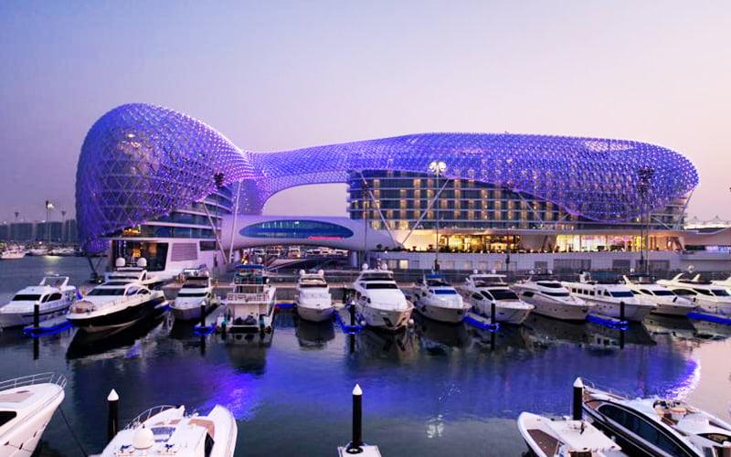 جزيرة ياس عالم الترفيه كما يجب أن يكون في أبو ظبي Travel Net