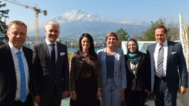 "Photo of ""رانيا المشاط"" تبحث سُبل التعاون مع كلية الإدارة الفندقية في مجال الضيافة بسويسرا"